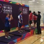 Special Olympics Aquatics Medal Ceremony Shawn Hamilton